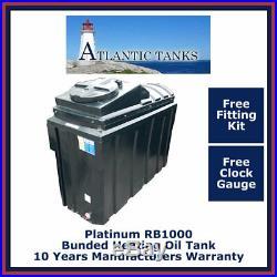 1000ltrs Rectangular Platinum Bunded Domestic Heating Oil Storage Tank