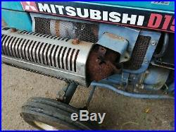 17hp compact tractor mitsubishi with rotovator, similar to kubota, iseki engine
