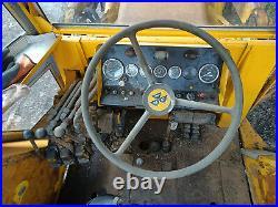 1973 Massey Ferguson 50B Digger Backhoe 4 in 1 front bucket I have the V5