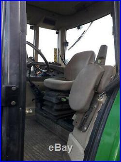 2000 John Deere 6210 with 631 loader