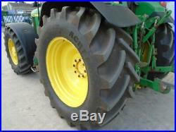 2001 John Deere Tractor 6910 140hp 50k Auto Quad TLS 5655 Hours