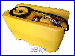 220l Diesel Bowser, Portable Fuel Tank, 12v Pump, 2 Years Warranty, Free Shipping