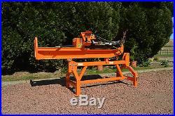 25ton Venom Tractor mounted log wood splitter hydraulic by Rock Machinery