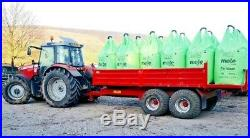 8T & 10T DROP SIDE TIPPING TRAILERS, Dump trailer, tractor, jcb, digger, McCauley, jpm