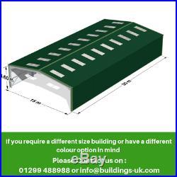 Agricultural Steel Frame Kit Building 100ft x 50ft x 16ft