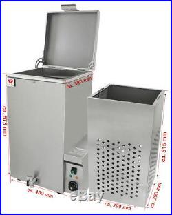 Beeketal Geflügel Brühkessel Brühautomat Geflügelrupfmaschine Brühmaschine