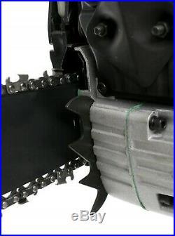 Benzin Kettensäge 52cc Motorkettensäge 4,3PS Kettensägen Motorsäge 18/45cm