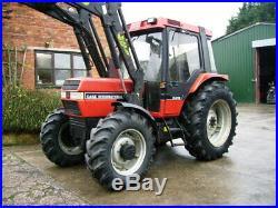 CASE IH 895 XL 4WD SUPER power loader