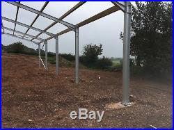 CE marked 60 x 30 x 12ft agricultural, farm, industrial, steel, building