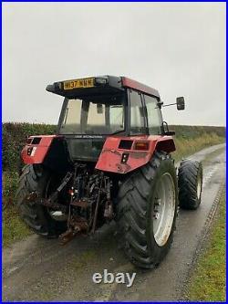 Case 5140 maxxum 4x4 tractor M reg 1994 Powershift cummins