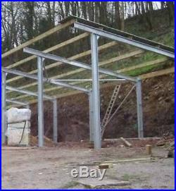 Ce Steel Framed Building Portal Frame Building 32 X 20 X 12 14 Ft Mono