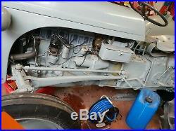 Classic Grey Ferguson ted 20 Tractor petrol tvo with buff log book