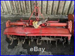 Compact tractor rotavators cultivators tillers 3 and 2 point linkage