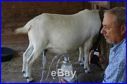 Dansha Farms The Frontier Goat Sheep Cow Milk Machine Rechargeable 1/2 Gallon