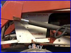 David brown 885 tractor Loader And Cab