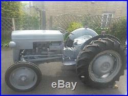 Ferguson Tractor TED 1952 Little Grey Fergie Fully Restored