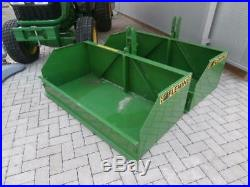 Fleming TB5 Transport Box 1.5m 5' Compact Tractor 3 Point linkage Mounted