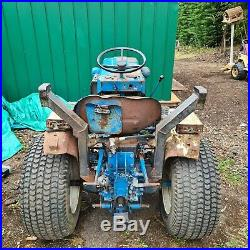Ford 1210 tractor, mini tractor, compact tractor, blue