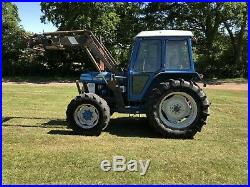 Ford 6610 tractor 4wd Loader Tractor
