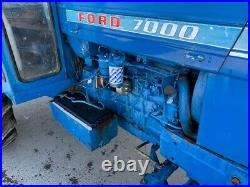 Ford 7000. A/p cab