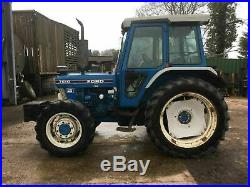 Ford 7610 4wd Tractor
