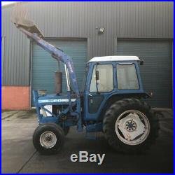 Ford 7610 tractor 2wd Bubble Cab Cw Loader