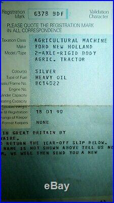 Ford 7810 silver jubilee model