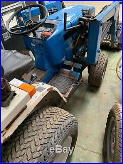 Ford New Holland 1220 4WD Compact Tractor with Loader