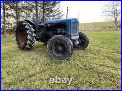Fordson major tractor Roadless Selene Live Drive