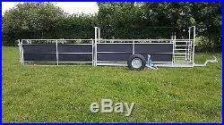 Fowrass Fabrication Compact Sheep handling trailer (CT3)