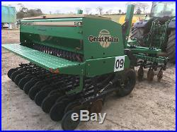 Great Plains seed drill, direct drill, zero till cover crop, not Dale John Deere