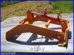 Greiferaufsatz für Frontladerschaufel, Gabel Hydraulik