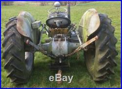 Grey Fergie tractor Ferguson 4 cylinder Diesel