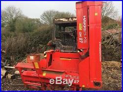 Haki Pilke OH27 firewood processor retirement sale new in June 2016
