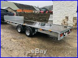 Ifor Williams LM166G Trailer 3500kg Flatbed Plant Low Loader 2019
