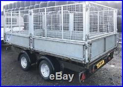 Ifor Williams TT126 Tipping Trailer