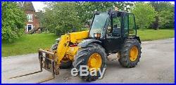 Jcb 526s turbo farm special loadall 4x4 telehandler fork lift Only 4800 hours