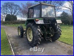 John Deere 2040 4WD tractor 85hp