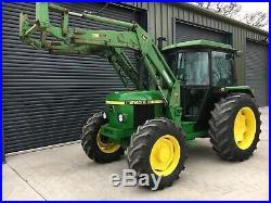 John Deere 2140, Loader Tractor, 4 Wheel Drive, Small Holder, Good Runner