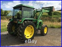 John Deere 2650, Loader Tractor, 4 Wheel Drive, Small Holder, Good Runner