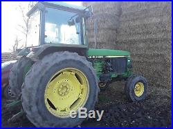 John Deere 3350 2wd tractor