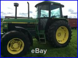 John Deere 3350 Tractor 100hp 6216 genuine hours