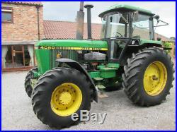 John Deere 4050 4WD Tractor
