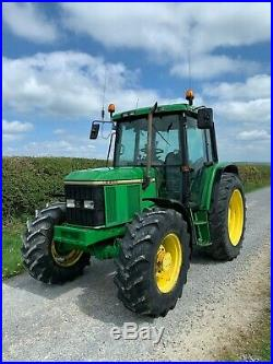 John Deere 6400 4x4 Tractor 4 cylinder turbo 100hp Four wheel drive