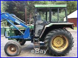John Deere Tractor Loader 3 Point Linkage Grass Topper