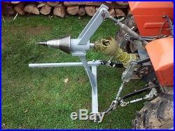 Kegelspalter für Traktor Dreipunkte Holzspalter Drillkegel Ø150mm Kat 1 / Kat 2