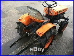 Kubota B6000 Compact Tractor 4wd Mini Digger Bargain Look Trailer
