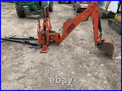 Lewis landlord back actor, compact tractor backhoe, tractor, digger