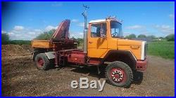 Magirus deutz 4x4 hiab truck unimog iveco forestry agricultural chassis cab