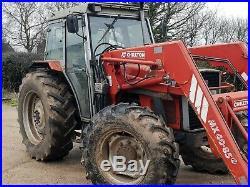 Massey Ferguson 390 4WD Loader Tractor